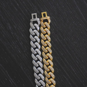 12MM Pave Set Cuban Link
