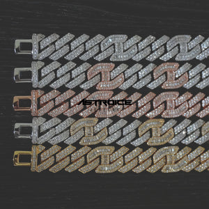 14MM Prong Set Cuban Gucci Link