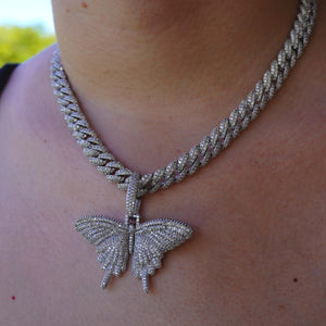 Butterfly Pendant W/ 12MM Bail