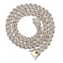 Load image into Gallery viewer, 14MM Prong Set Cuban Link