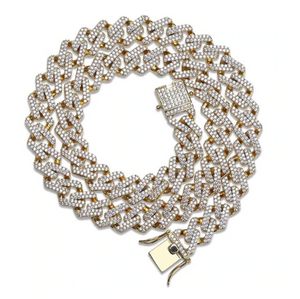 14MM Prong Set Cuban Link