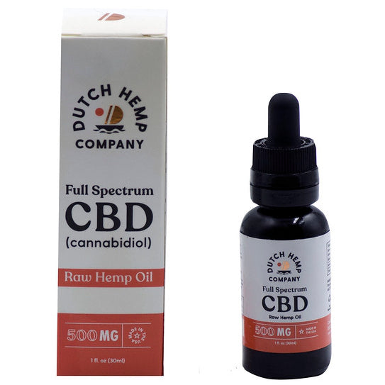 Dutch Hemp Premium Full Spectrum Hemp CBD Tincture 500mg