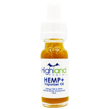Highland Pharms Hemp Plus Full Spectrum CBD Vape Oil 15ml