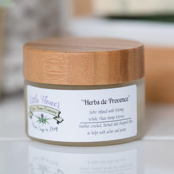 Little Flower Full Spectrum Hemp CBD Salve - Herbs de Provence