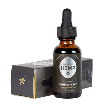 Made By Hemp Full Spectrum Hemp CBD Tincture French Vanilla