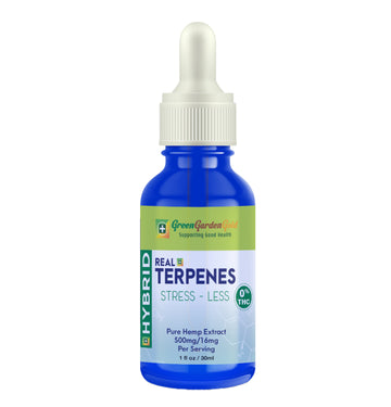 Green Garden Gold Real Terpenes Hemp CBD Tincture Hybrid