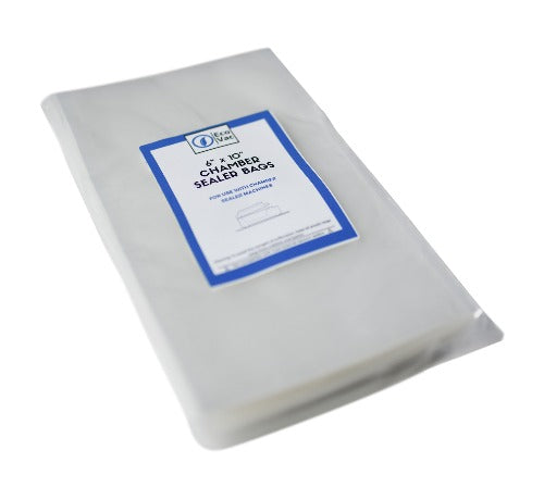 6 x 10 EcoVac Bags chamber sealer bag pouches