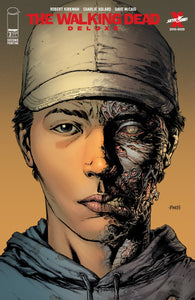 WALKING DEAD DELUXE #1 2 3 4 5 6 2ND PRINT DAVID FINCH VARIANT SET
