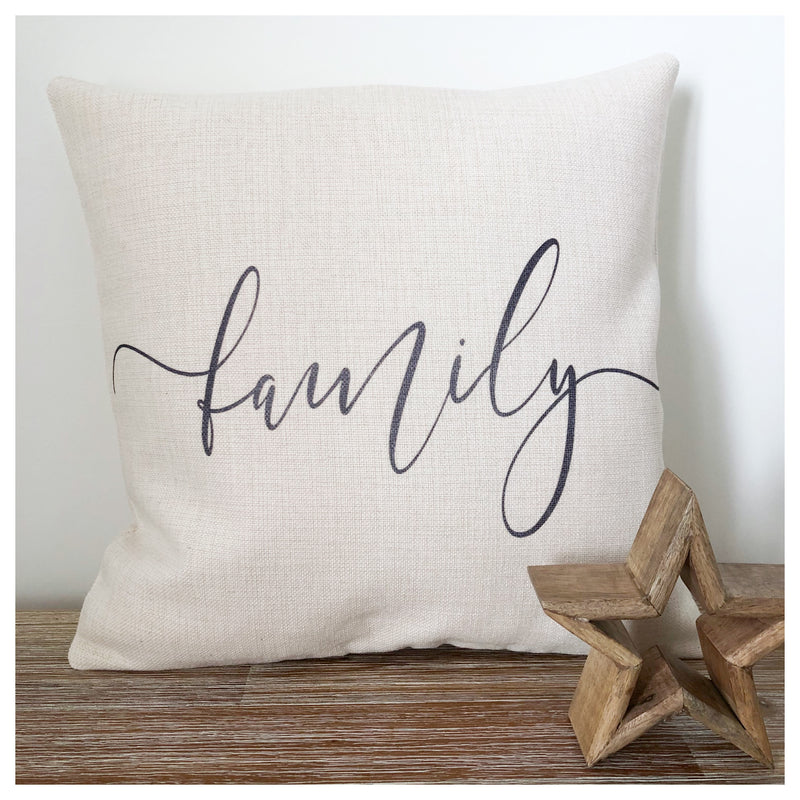 Family Farmhouse Cushion