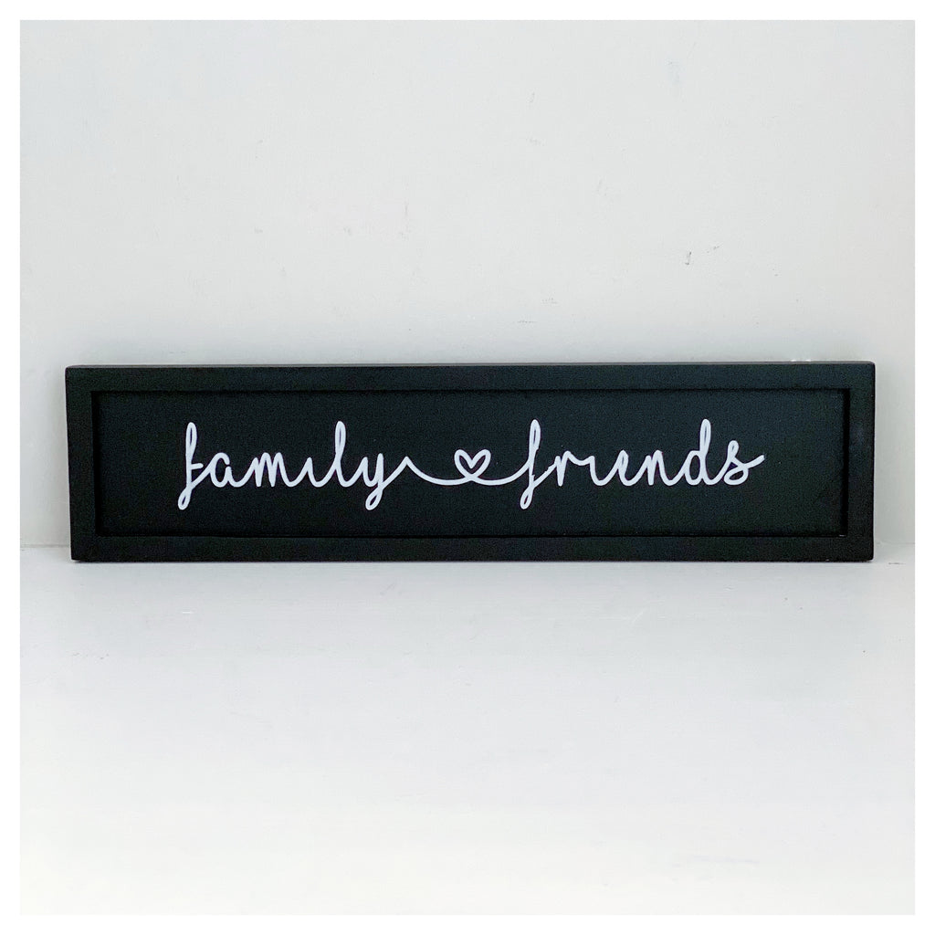 Family & Friends Plaque