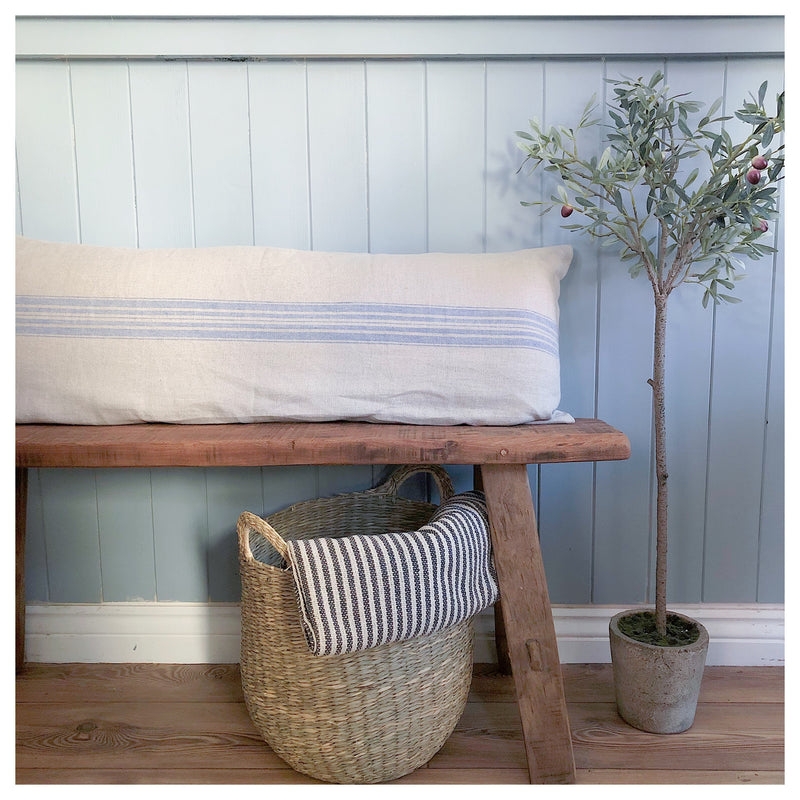 Extra Long Stripe Bench Cushion