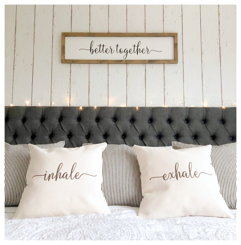 Better Together Rustic Sign