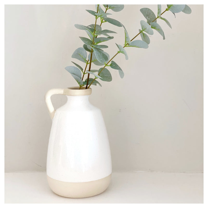 Natural Two Tone Vase