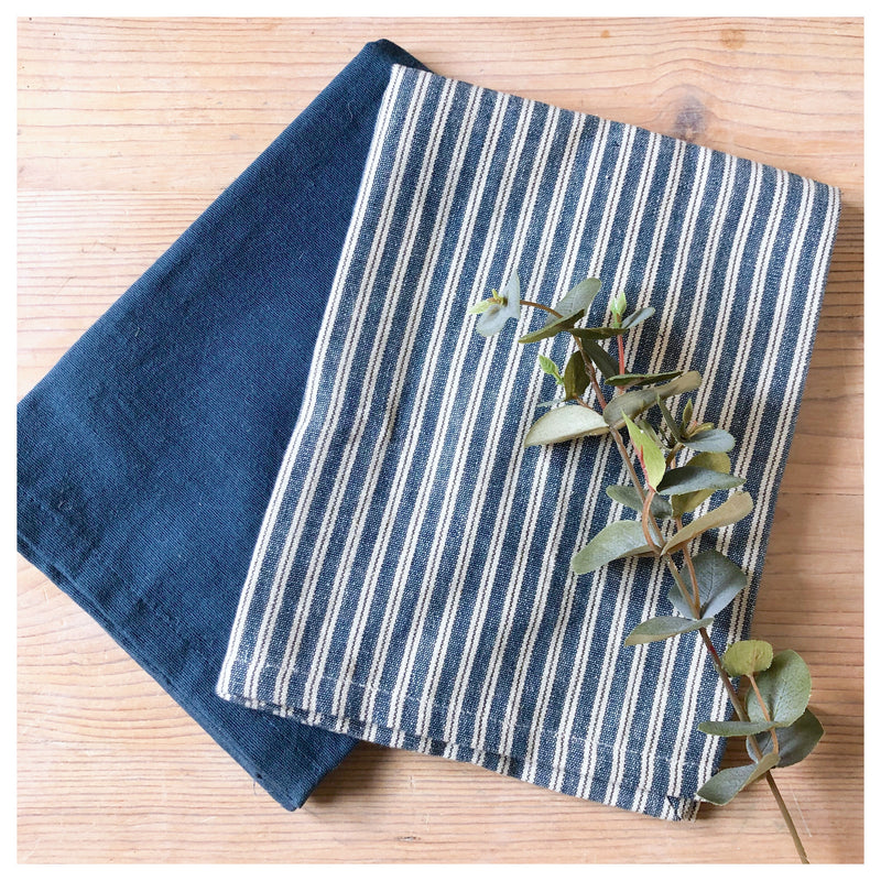 Set of 2 Hampton Stripe Tea Towels