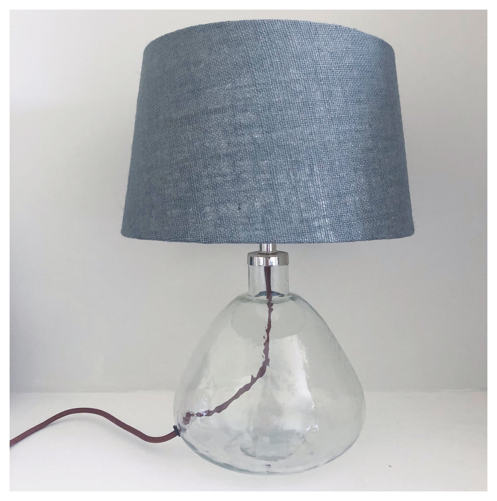Recycled Glass Table Lamp