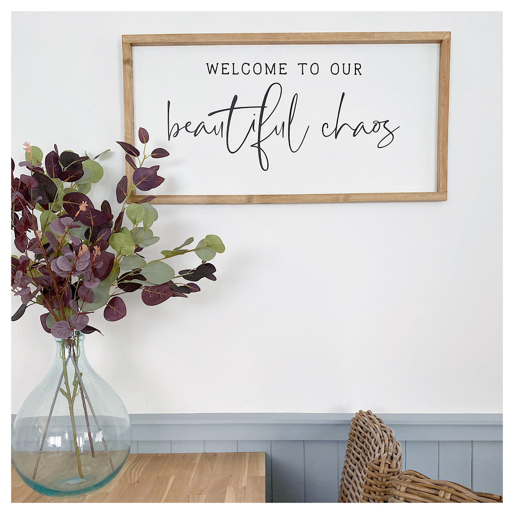 Beautiful Chaos Sign