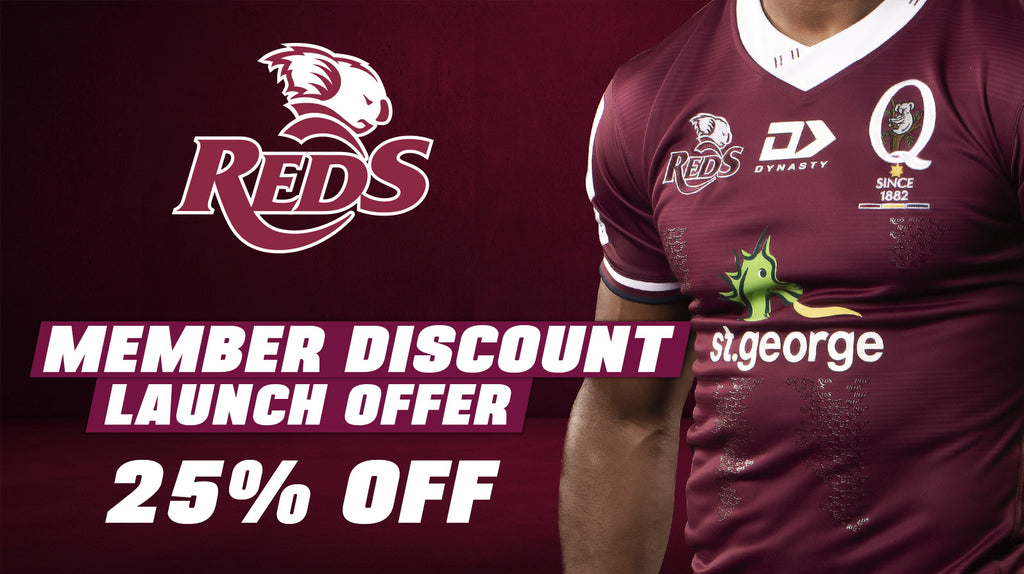 2020 Queensland Reds Member Offer