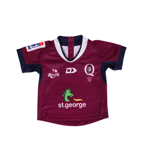 Queensland Reds 2019 Toddler Replica Jersey Home