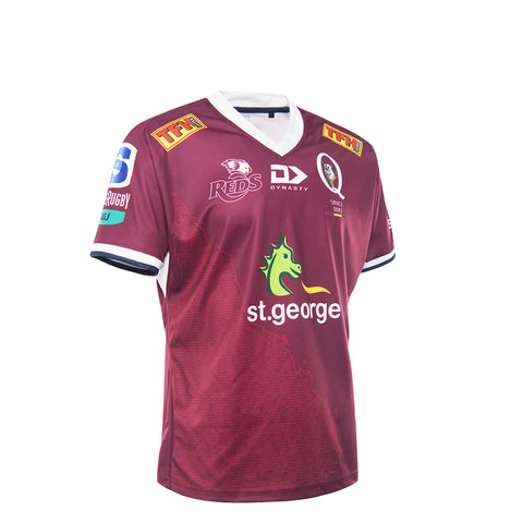 2021 Queensland Reds Junior Replica Home Jersey