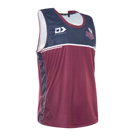 2021 Queensland Reds Mens Training Singlet