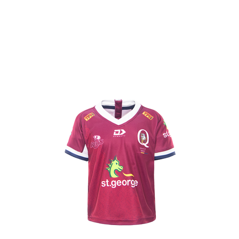 2021 Queensland Reds Toddler Replica Home Jersey