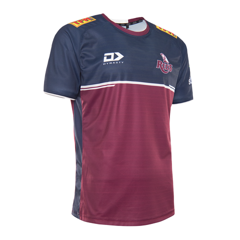 2021 Queensland Reds Mens Training Tee