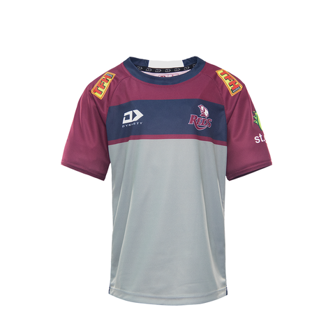 2021 Queensland Reds Junior Warm Up Tee