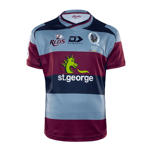 2020 Queensland Reds Mens Replica Away Jersey