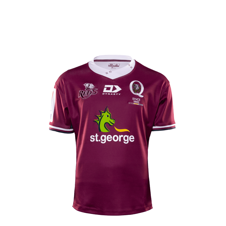 2020 Queensland Reds Junior Replica Home Jersey