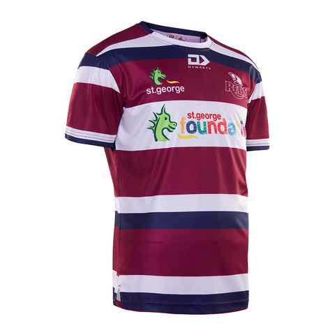 2020 Queensland Reds Mens Warm Up Tee