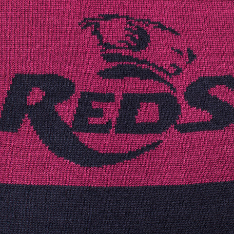 Queensland Reds Knitted Scarf