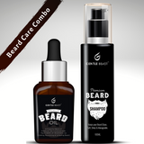 Gentle Beast Beard Oil & Beard Shampoo Combo | Beard Care Essentials