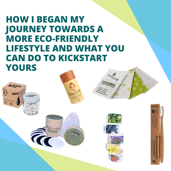 How I began my sustainable lifestyle journey and what you can do to kickstart yours! | The Cleaning Cabinet