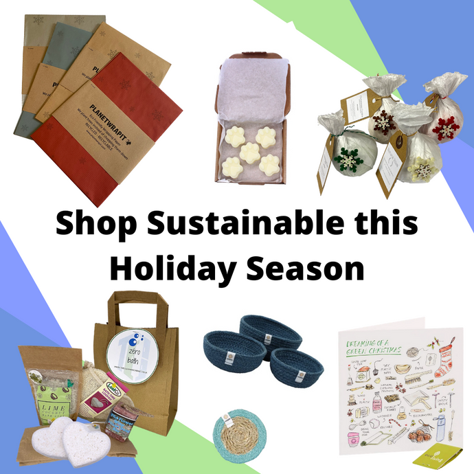 Shopping Sustainably this Holiday Season with The Cleaning Cabinet