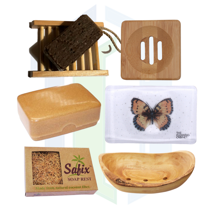 Our Best-Selling Soap Dishes: Glass, Wooden or Coconut Fibre