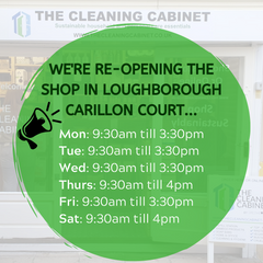 The Cleaning Cabinet Opening Times