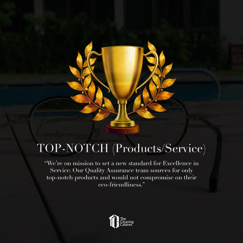 The Cleaning Cabinet TOP-NOTCH PRODUCTS & SERVICE