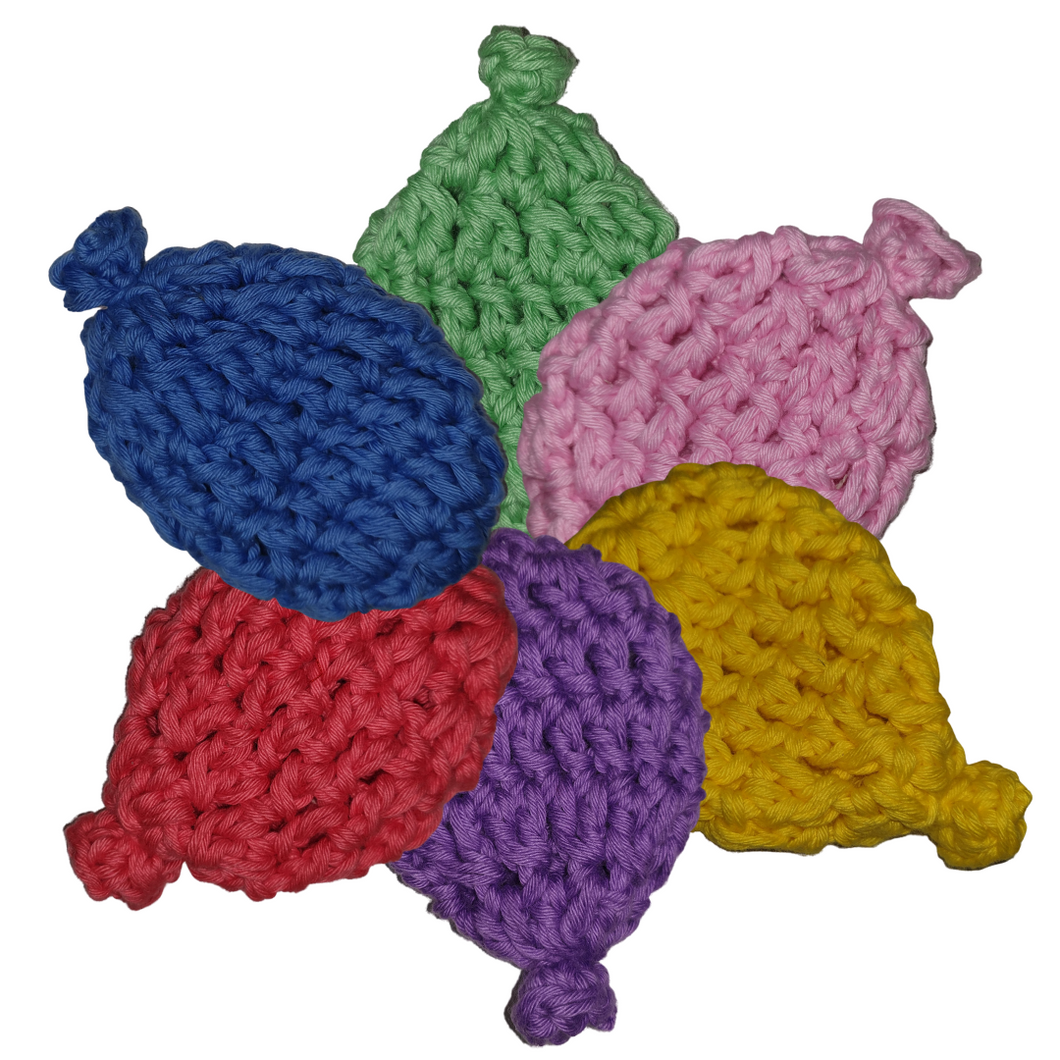 Reusable Crochet Water Balloons (Pack of 6)