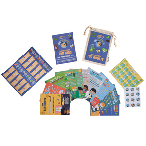 Eco Warriors Flash Cards Game for Children