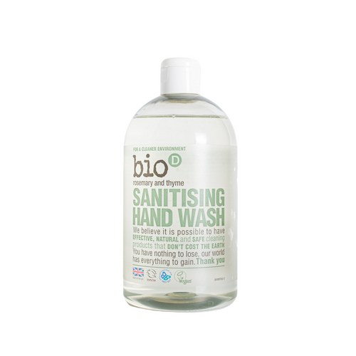 Bio-D Sanitising Hand Wash (Rosemary & Thyme) - 500ml