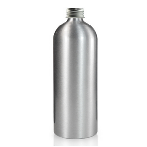 Aluminium Refill Bottle (500ml) with Screw Cap, the-cleaning-cabinet