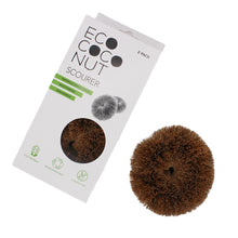 Load image into Gallery viewer, EcoCoconut Scourers, the-cleaning-cabinet