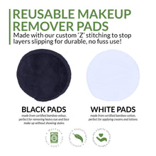 Load image into Gallery viewer, Organic Reusable Makeup Remover Pads, the-cleaning-cabinet