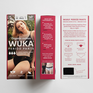 WUKA Ultimate™ Midi Brief - Medium Flow