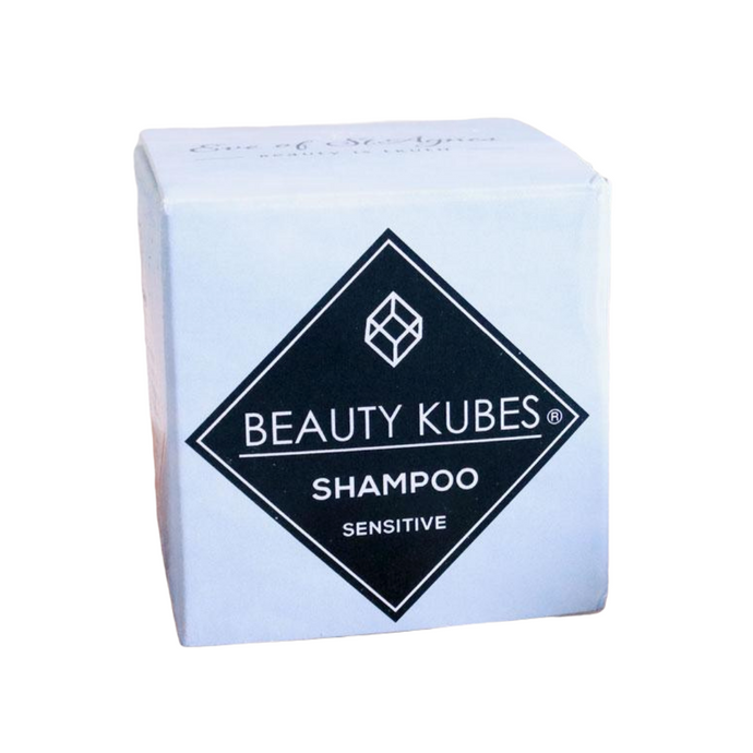 Plastic-Free Shampoo Cubes for Sensitive Skin