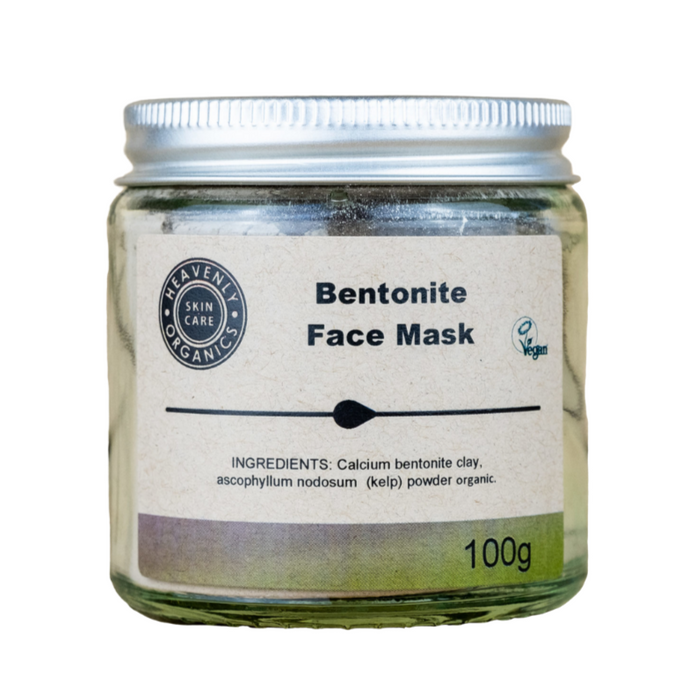 Organic Bentonite Clay Face Mask, the-cleaning-cabinet