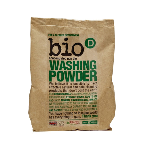 Non-Bio Concentrated Washing Powder by Bio-D, the-cleaning-cabinet