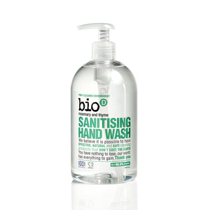 Sanitising Hand Wash (Rosemary & Thyme) by Bio-D