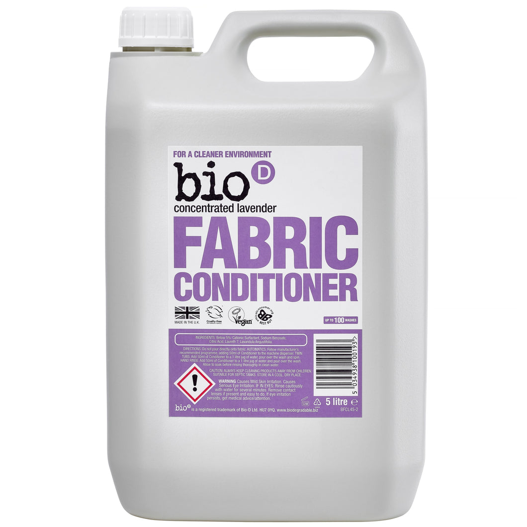 Fabric Conditioner (Lavender) by Bio-D, the-cleaning-cabinet
