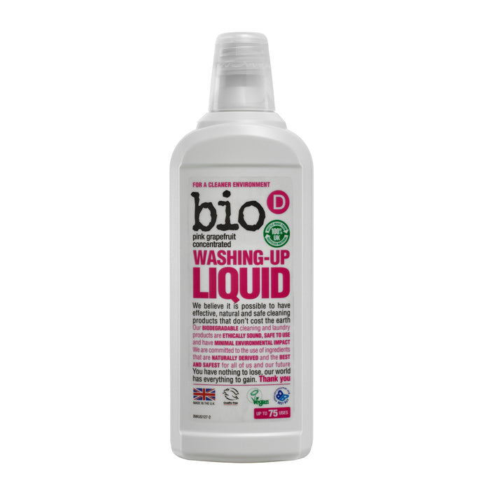 Bio-D Washing Up Liquid (Grapefruit) 750ml